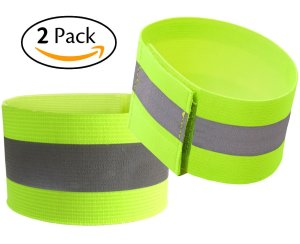 Attmu High Visibility Reflective Wristbands