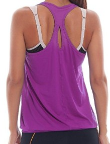 SYROKAN Active Racerback Athletic Sports