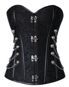 Charmian Women Steampunk Gothic Waist Cincher